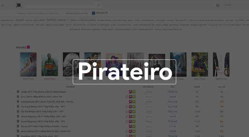Pirateiro torrent site