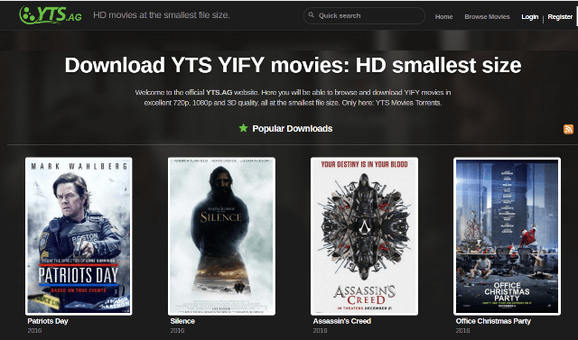 YIFY Torrents: YIFY Proxy and Mirror Sites (100% Working)